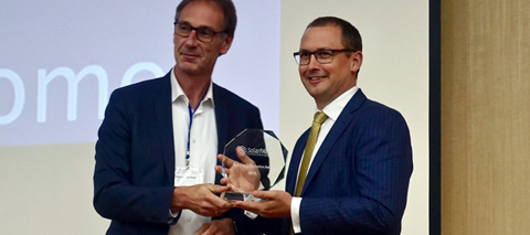 Australian cleantech firm wins global solar innovation award